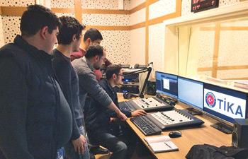 Azerbaijan Presidency ASAN Service Radio Station's installation has been completed.
