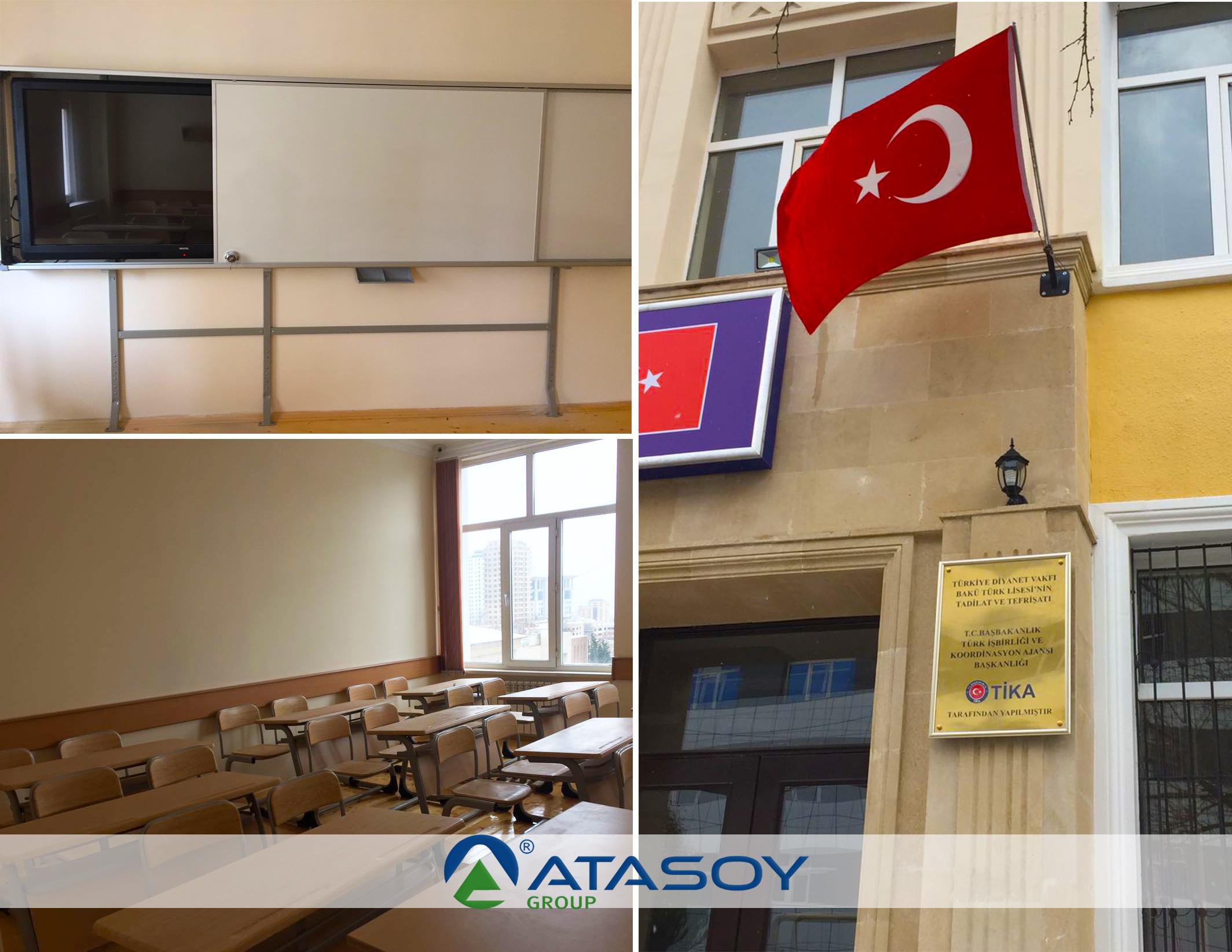 TİKA-Akıllı Sınıf Laboratuvar Sistemleri Montaj ve Projelendirme
